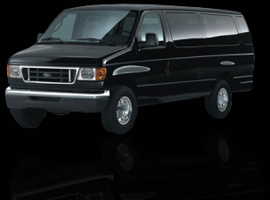 Black Ford Van For Rental