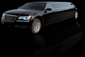 Chrysler 300 Black Limo