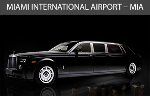 Miami International Airport Limo – MIA